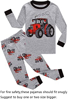 44404a6abd Amazon.com  Choco Moon Pajama Sets for Boy Sleepwears Kids Pjs  Clothing