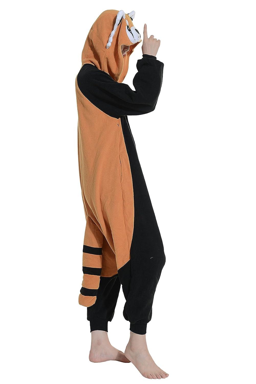 Mapache Cosplay Animales Pijamas Enteros Mujer Invierno Novedad Navidad Traje Disfraz: Amazon.es: Ropa y accesorios