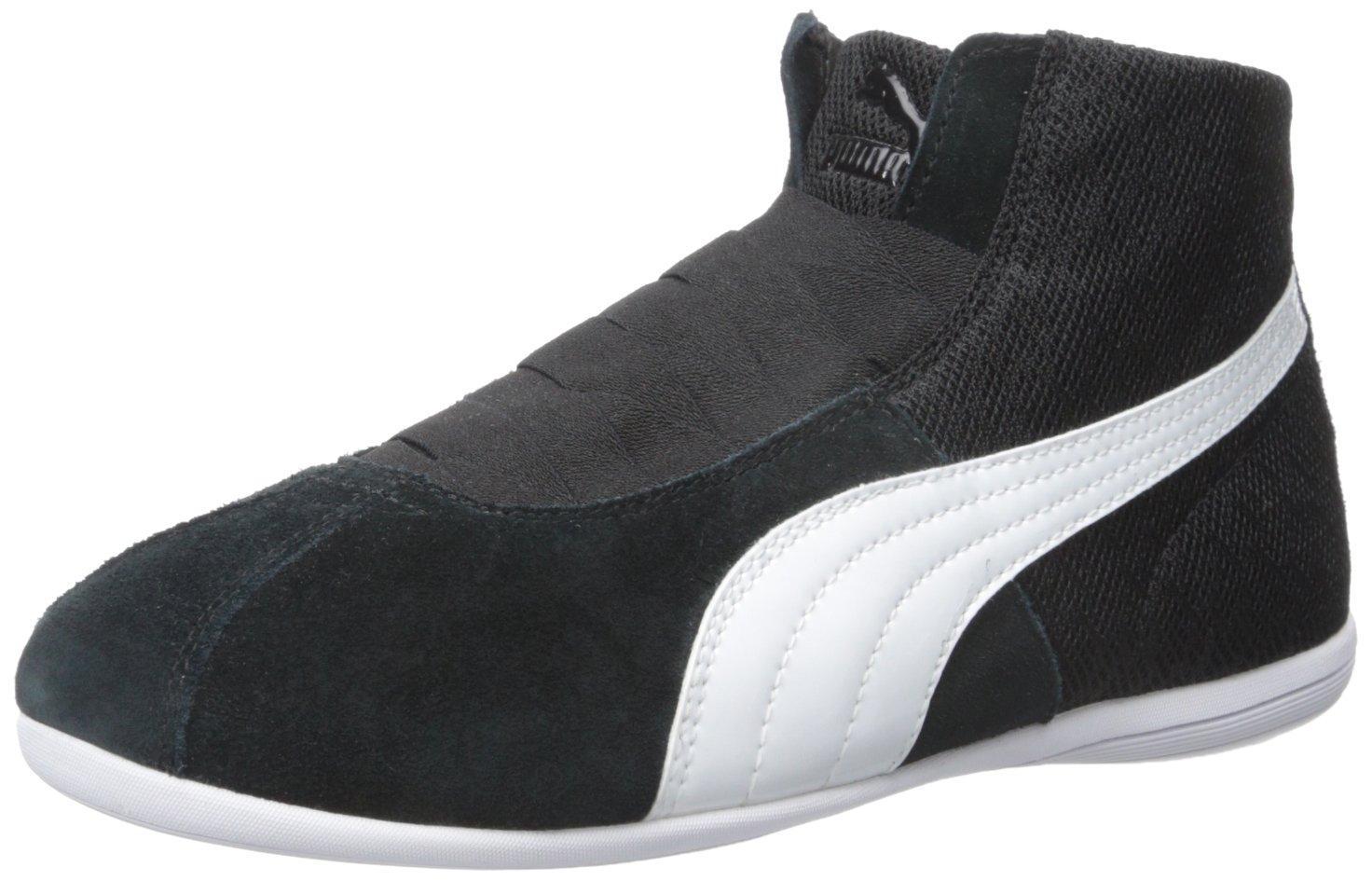 PUMA Women's Eskiva Mid Textured Cross-Trainer Shoe, Black, 7 M US by PUMA (Image #1)