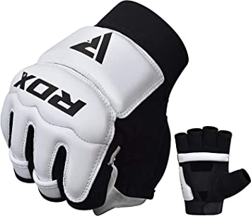 RDX Taekwondo Gloves WTF Training Martial Arts  MMA Boxing Sparring TKD Punching