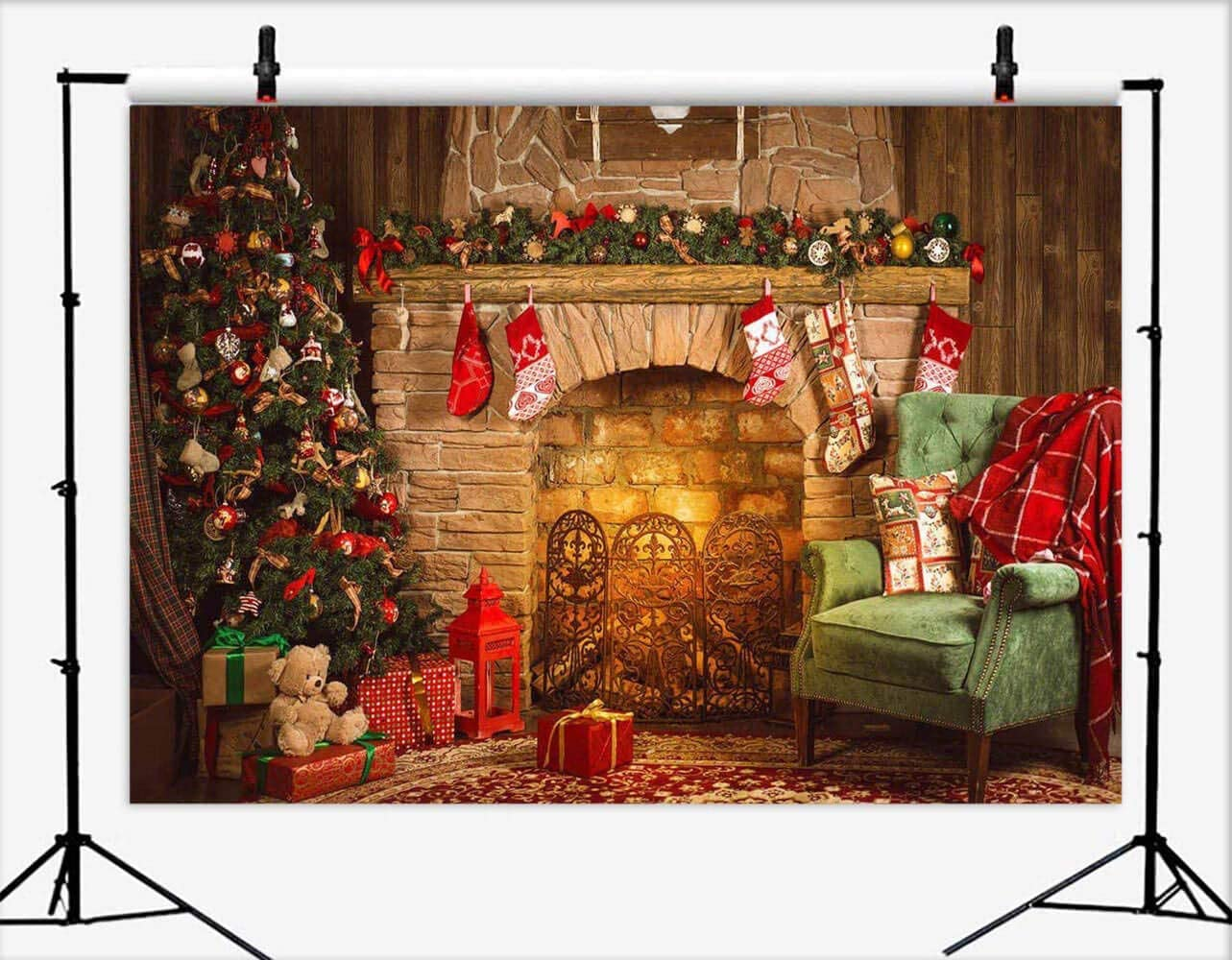 Christmas Backdrop for Photography zc