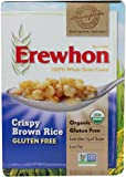 Erewhon Crispy Brown Rice Cereal, Gluten Free, Organic, 10 oz (Pack of 3)