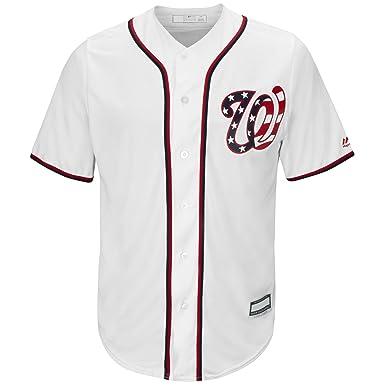 13445def Trea Turner Washington Nationals White Youth Cool Base Alternate Replica  Jersey (Large 14/16