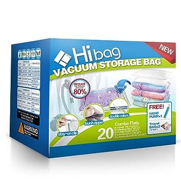 Amazon.com: Hibag Premium bolsas de ahorro de espacio ...