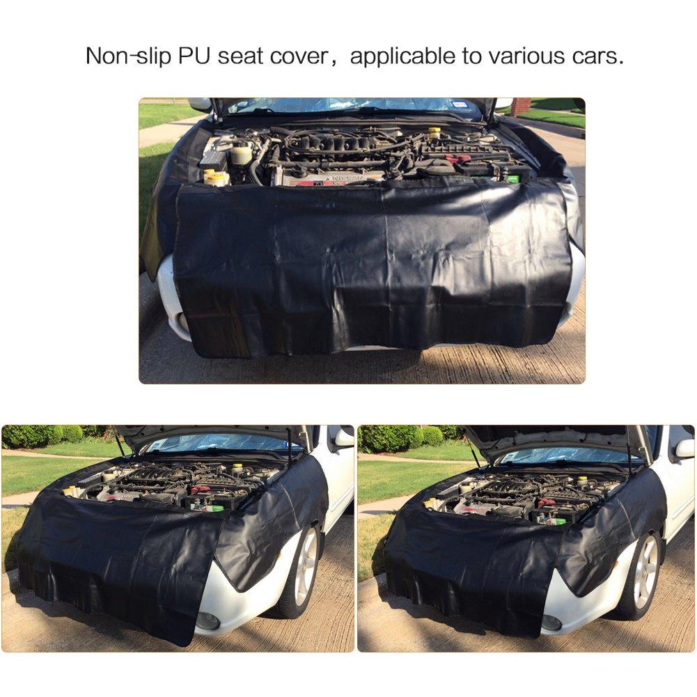 set da 3 pezzi adatti per riparazioni meccaniche su automobili Tappetini coprenti ad applicazione magnetica per parafango Rupse