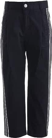 GULLIVER Pantalones chinos para niños, color negro, 2-7 años, 98-128 cm