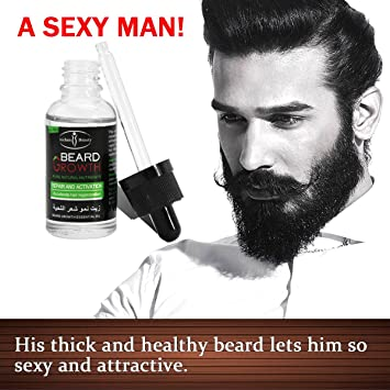 Hjr Best Natural Beard Growth Oil And Nutrients Pure Conditioner For