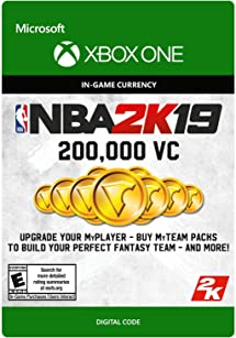 Amazon com: NBA 2K19: 200000 VC Pack - Xbox One [Digital
