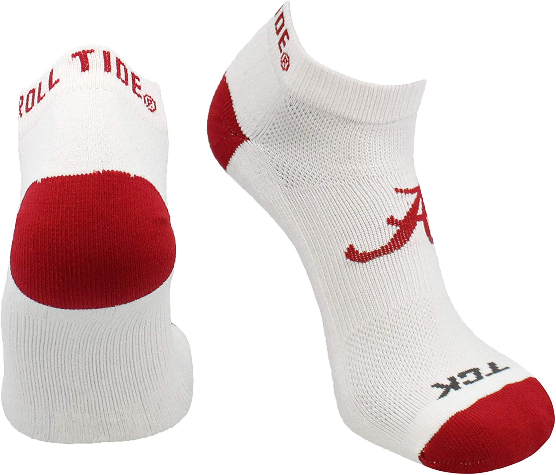 North Carolina Tar Heels No Show Socks Full Field 3 Pack