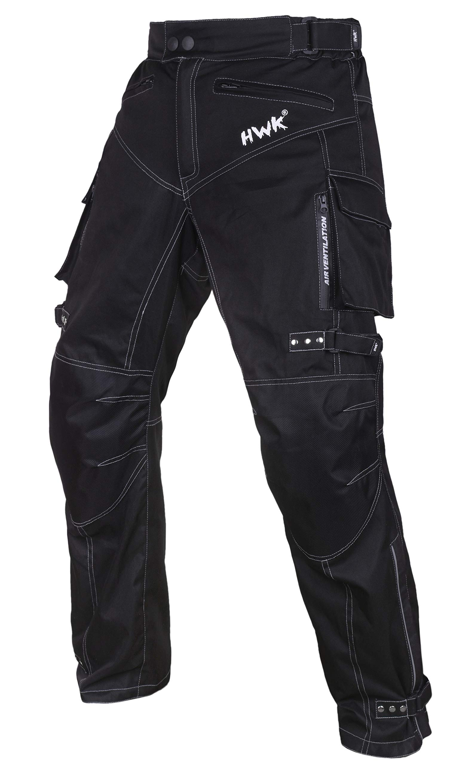 Motorcycle Pants For Men Dualsport Motocross Motorbike Pant Riding Overpants Enduro Adventure Touring Waterproof CE Armored All-Weather (Waist32''-34'' Inseam30'')