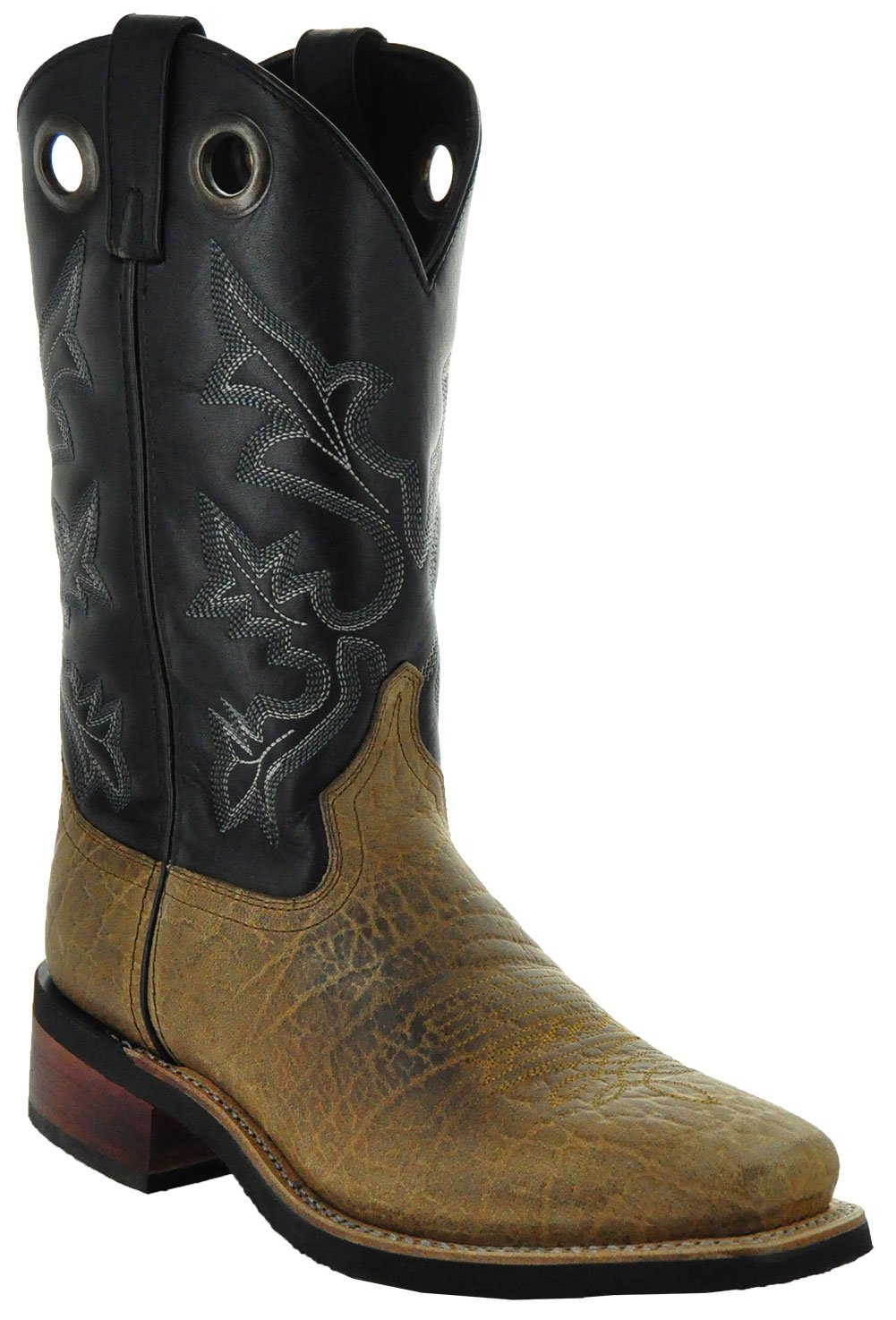 Soto Boots El Dorado Men's Western Square Toe Boots by H3004 (9.5) by Soto Boots