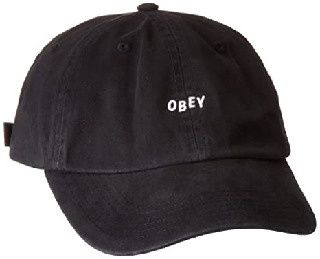 ae439e71165 Amazon.com  Obey Men s Jumble Bar Ii 6 Panel Hat