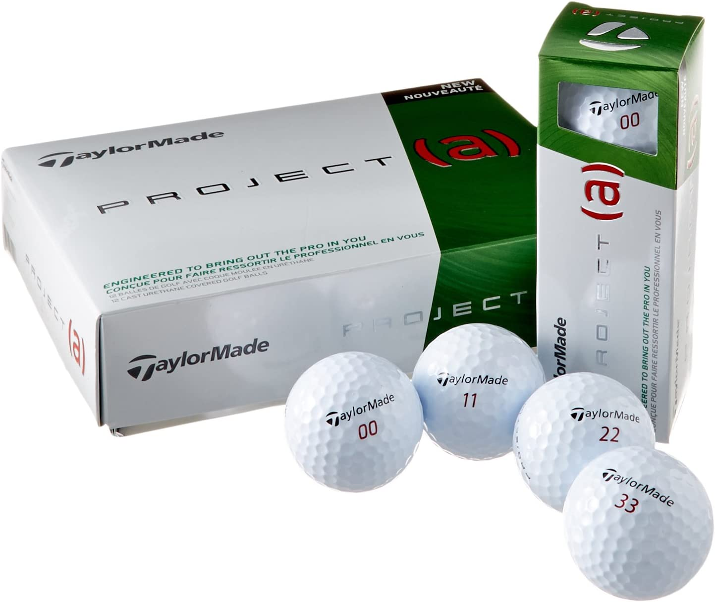 TaylorMade 2014 Project (a) Golf Balls - White