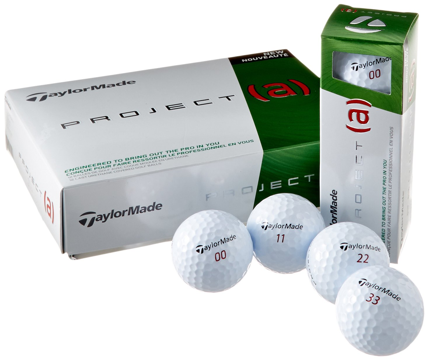 TaylorMade 2014 Project a Golf Balls White