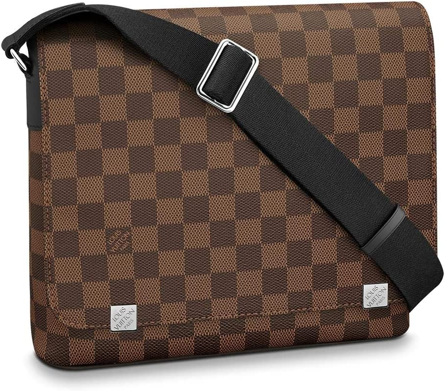 Louis Vuitton District Messenger Bag (Damier Ebene, PM)