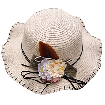 18c256c0 Image Unavailable. Image not available for. Color: Straw Sun Hat for Little  Gilrs, Clearance Sale Iuhan Toddler Kids Girl Multi-colors