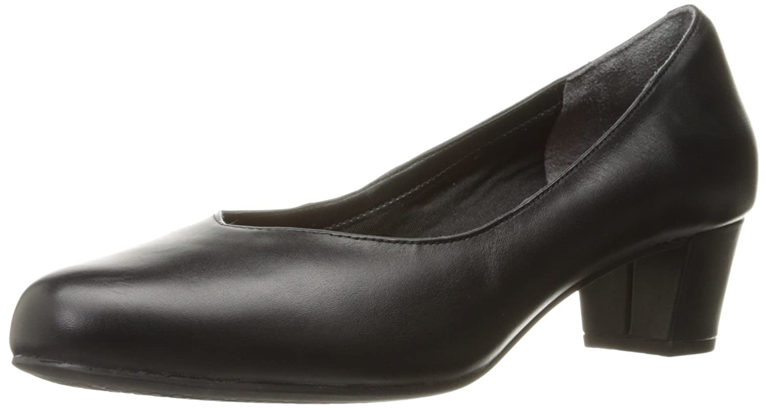 Rockport Women's Total Motion Charis Dress Pump B01ABRN5GW 7.5 N US|Black Leather