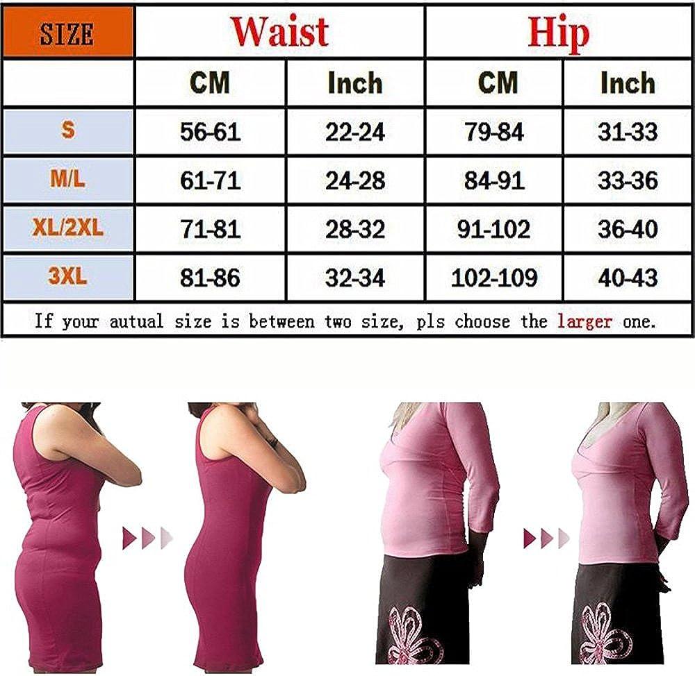 Kiwi-Rata Panty Faja Reductor de Abdomen y Cintura Gl/úteos Libres Boxers Encaje Braguitas Moldeadoras Braga Lencer/ía Levanta para Mujer