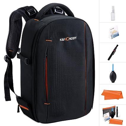 K&F Concept Mochila para Cámara DSLR Trípode y Portátil Laptop ...