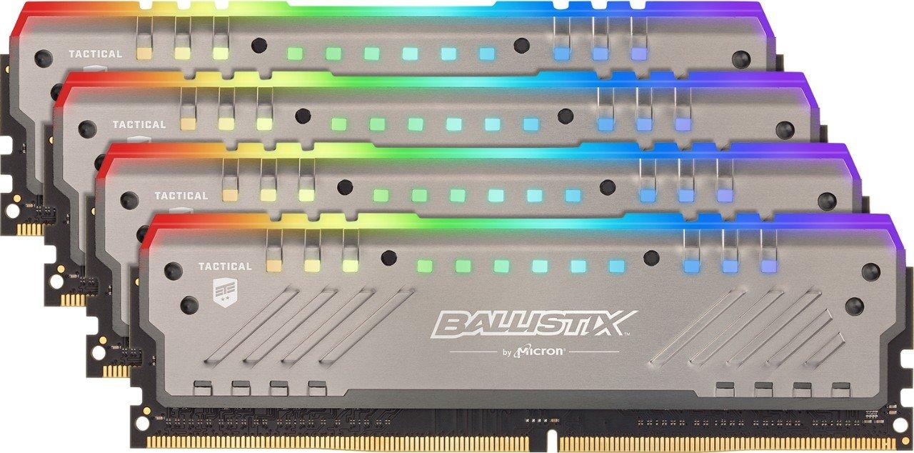 crucial ballistix tactical tracer rgb gaming memory kit