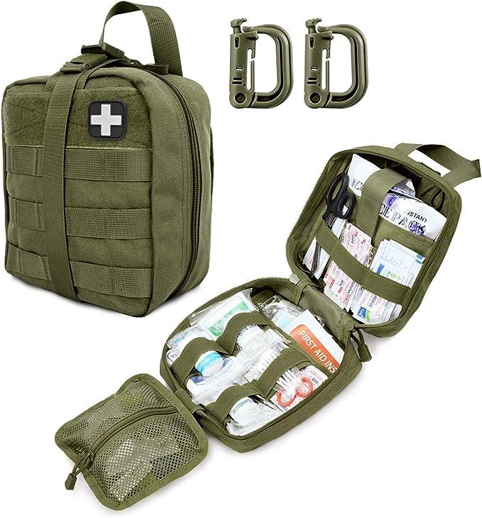 bolsa para Walkie-Talkie AILOVA Tactical Molle Walkie-talkie bolsa bolsa de almacenamiento Interphone al aire libre Molle Radio