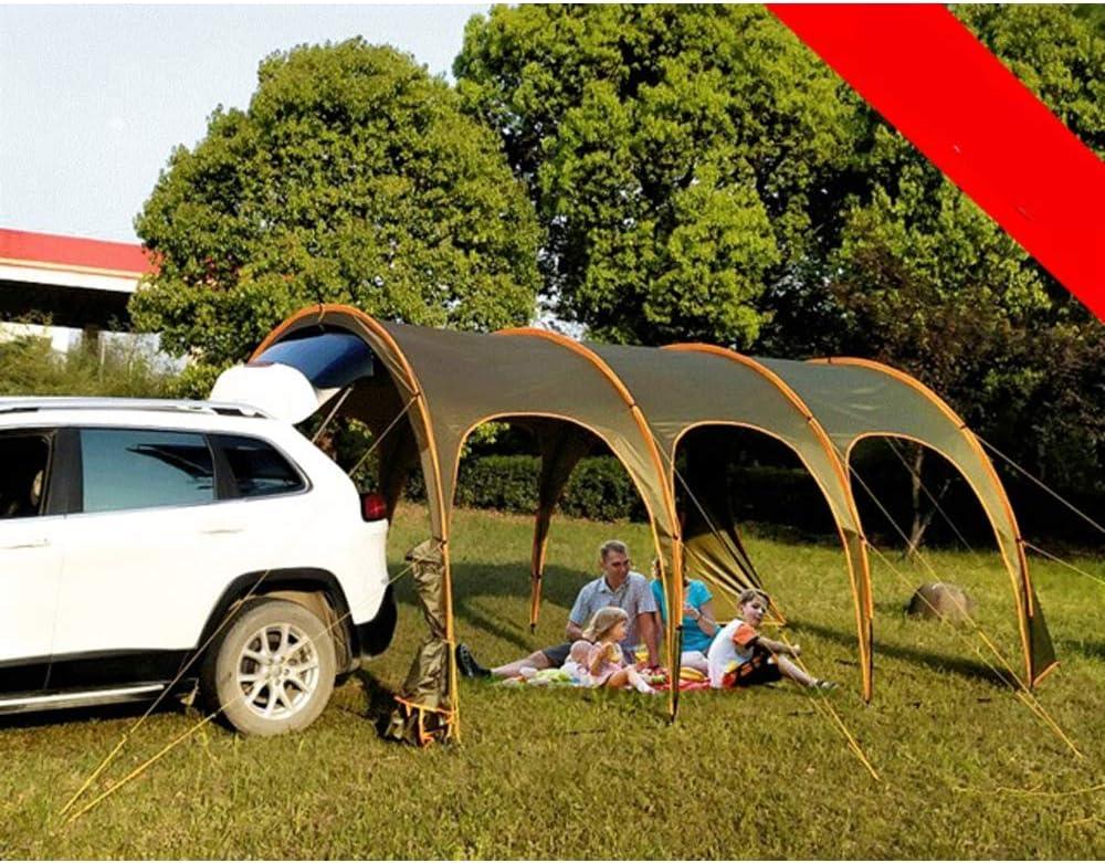 LANGYINH Tragbar Auto Heckzelt Camping Carport Überdachung