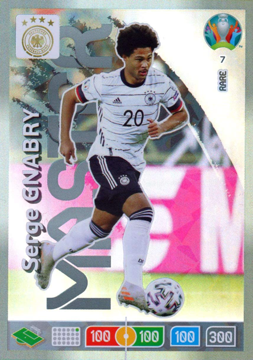 Panini ADRENALYN XL Euro 2020 Serge GNABRY Master Trading Card - Germany #7: Amazon.es: Juguetes y juegos