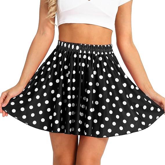 Freebily Faldas Cortas Mujer Verano Faldas de Moda Faldas Tul ...