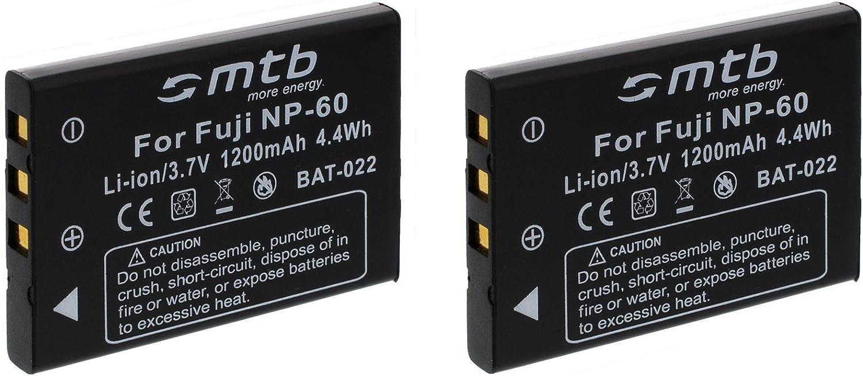 2 Akkus NP-60 SD55 // RCP-8325X 10325X Ladegerät für Rollei SD40