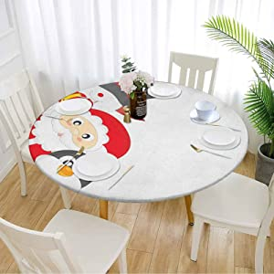 Christmas Round Table Cover 54