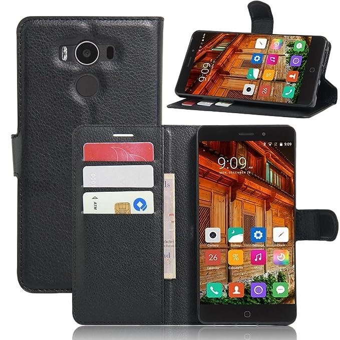 Funda para Elephone P9000 Vikoo Flip Cover Tapa de Cuero de La PU ...