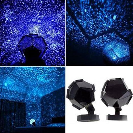 YOYOUG - Lámpara de proyección de estrellas, proyector nocturno de ...