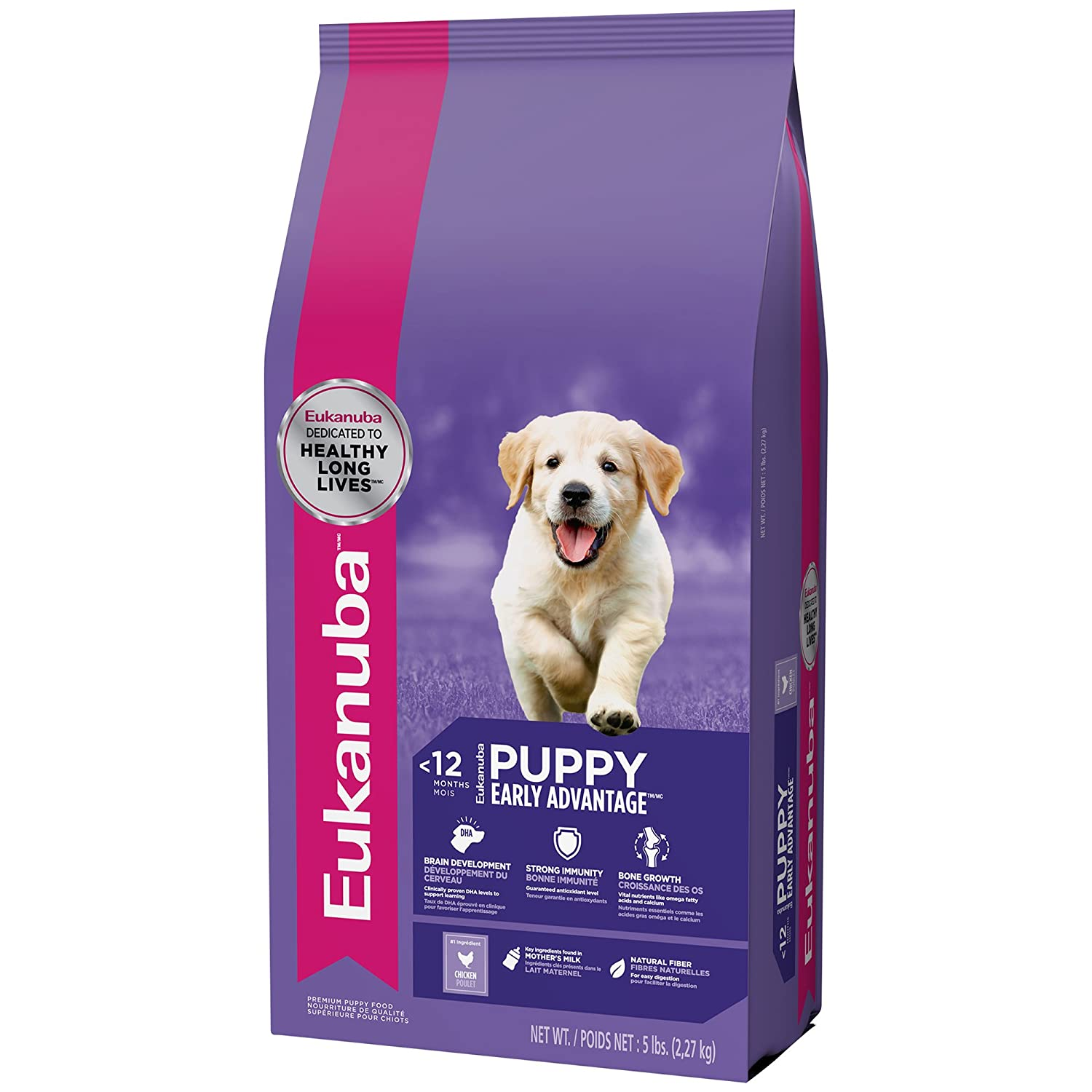 Eukanuba Puppy Food >> Amazon Com Eukanuba Puppy Growth Puppy Food 5 Pounds Pet Supplies