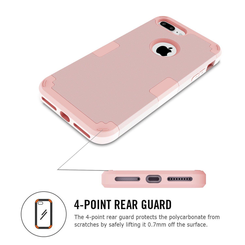 Amazon.com: iPhone 7Plus estuche, LONTECT hí ...