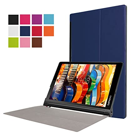 Asng Lenovo Yoga Tab 3 Plus / Lenovo Yoga Tab 3 Pro 10 Case - Ultra Slim Lightweight Standing Cover for Lenovo Yoga Tab 3 Plus YT3-X703F / Yoga Tab 3 ...