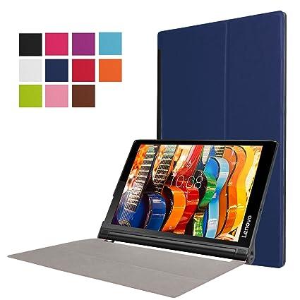 Asng Lenovo Yoga Tab 3 Plus / Lenovo Yoga Tab 3 Pro 10 Case - Ultra Slim Lightweight Standing Cover for Lenovo Yoga Tab 3 Plus YT3-X703F / Yoga Tab 3 ...