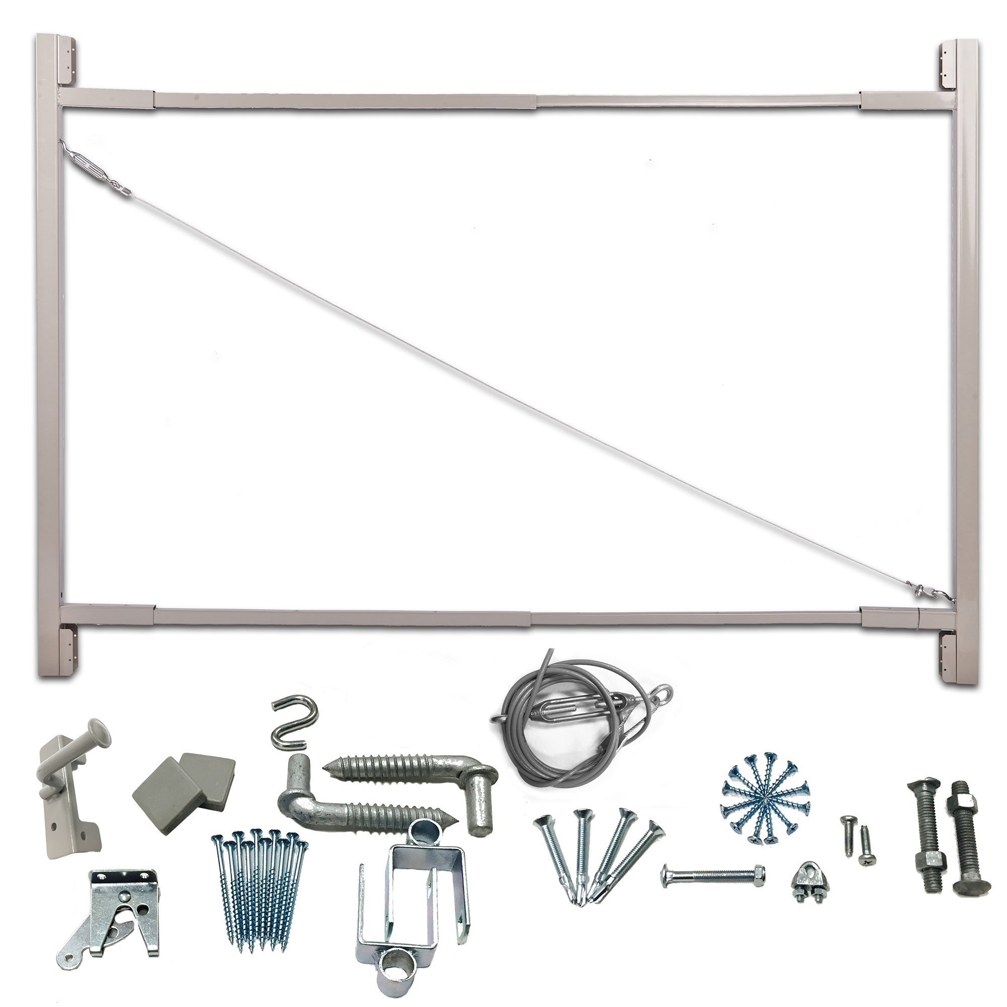 Adjust-A-Gate Gate Building Kit, 36''-72'' Wide Opening up to 6' High (3 Pack) by Adjust-A-Gate (Image #2)