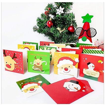Eva dibujos animados tarjeta de felicitación de la Navidad ...