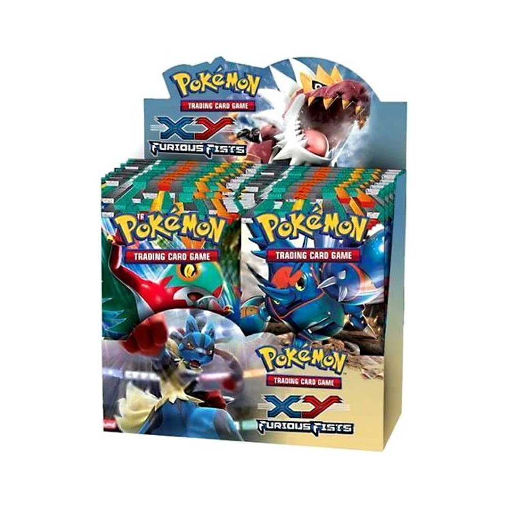 Esdevium Pokemon Trading Card Spiel - XY3 Furious Fists Boosters (Sortimentsartikel) [UK Import]