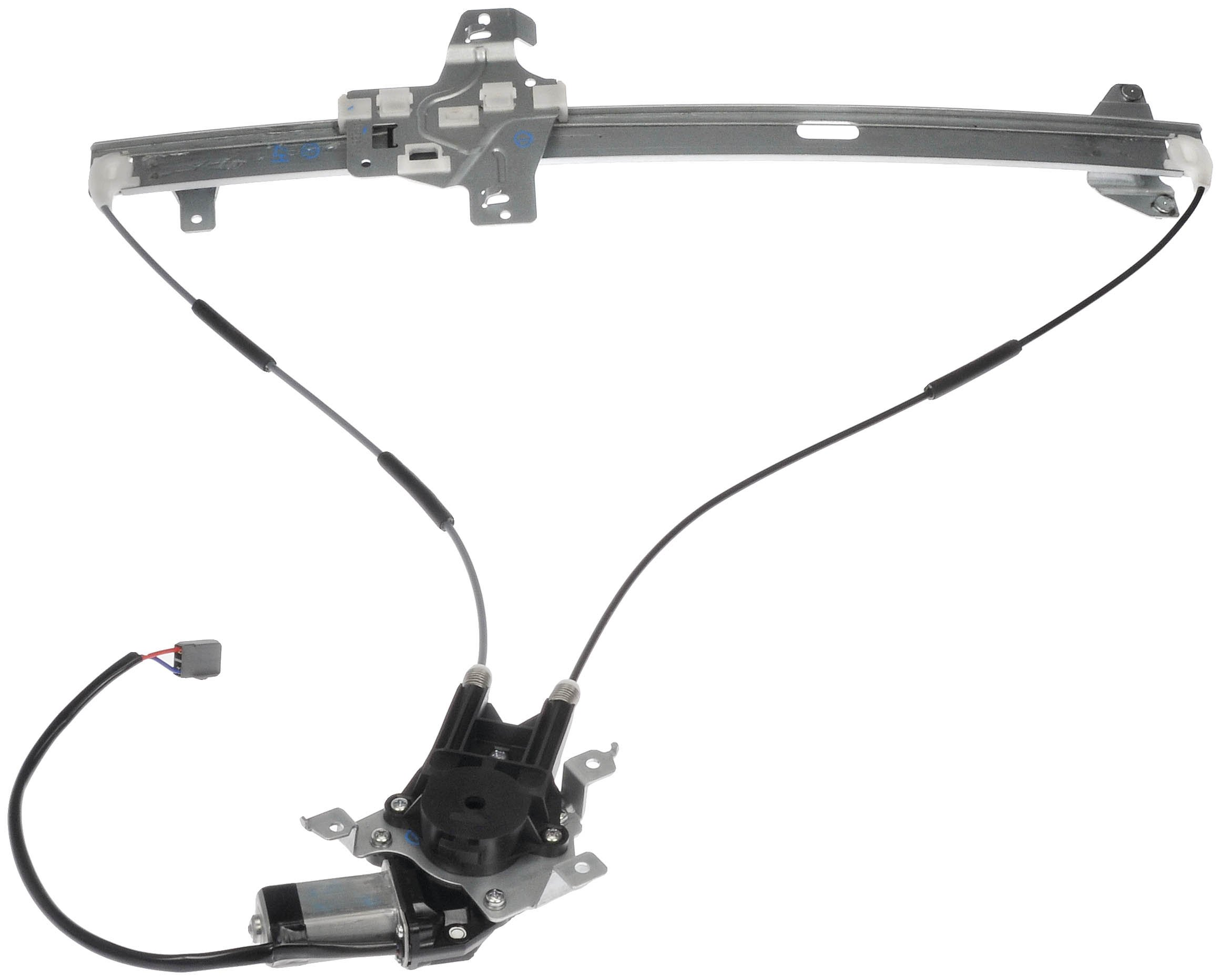 Dorman 741-586 Front Driver Side Replacement Power Window Regulator with Motor for Ford E Series Van by Dorman