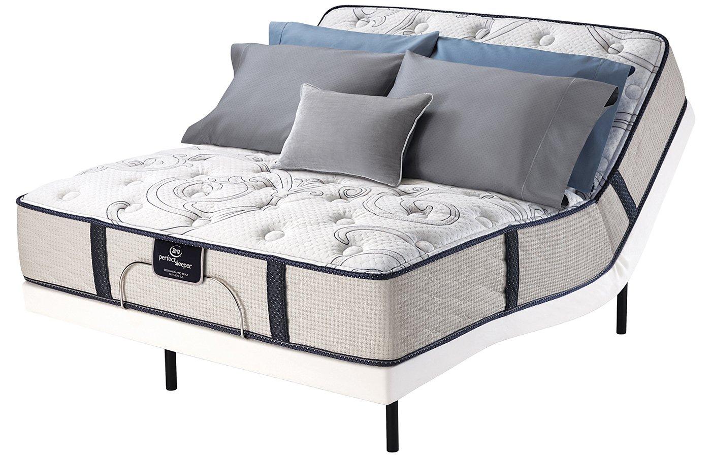 Queen Serta Perfect Sleeper Elite Fawnridge Plush Mattress