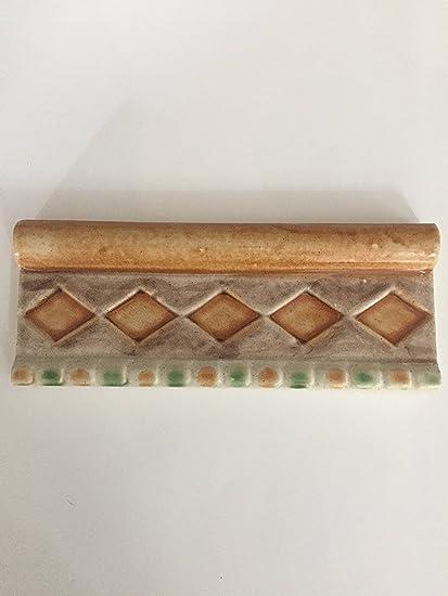 Greca in ceramica con capitello cm 8 x 20 serie liberty -MARCA ...