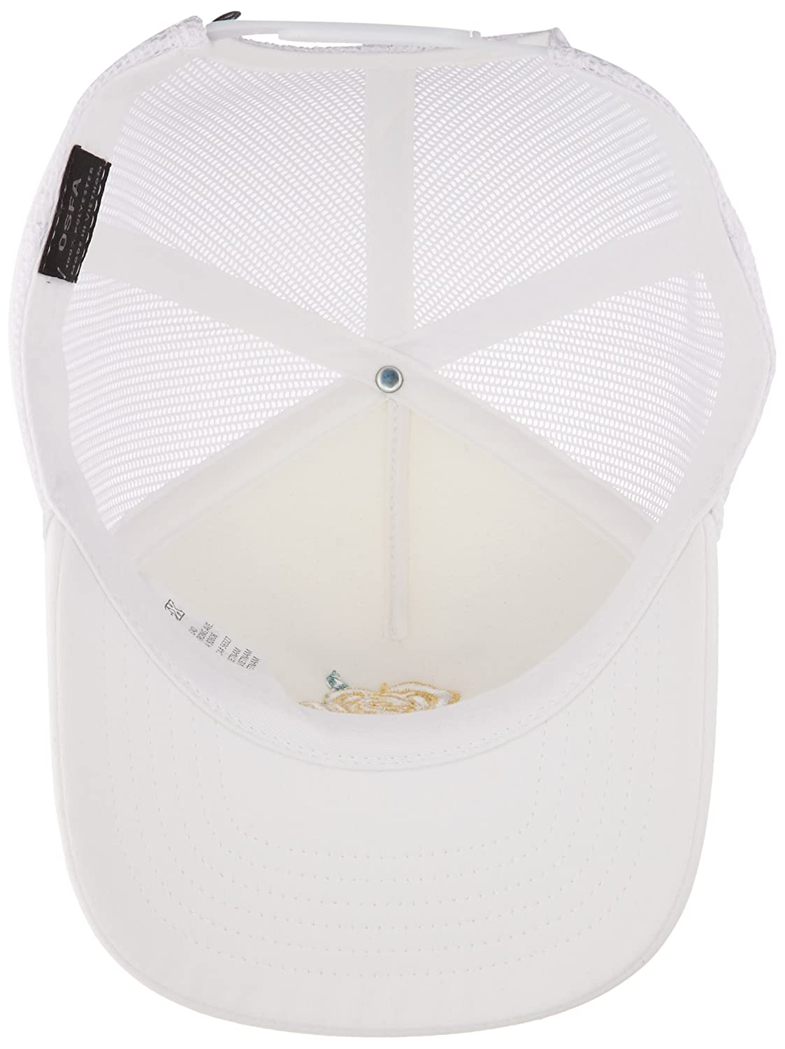 4a647b12 Fox Junior's Rosey Trucker, White, OS at Amazon Women's Clothing store: