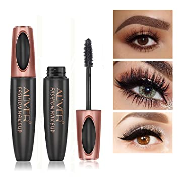 522b084823d 4D Silk Fiber Eyelash Mascara, Extra Long Lash Mascara Waterproof Not  Blooming Curling Natural Eye