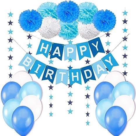 Decorazione Compleanno Bimbo Bandierine Di Buon Compleanno Happy