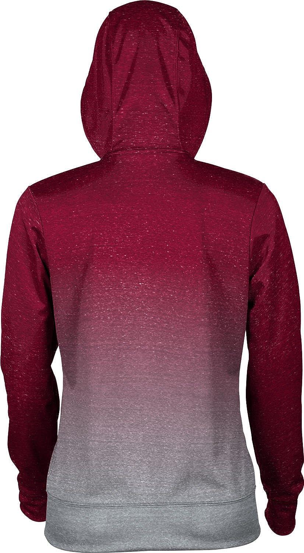 School Spirit Sweatshirt Ombre Rider University Girls Pullover Hoodie