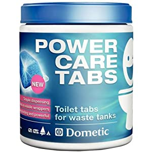 Dometic Power Care Toilet Tabs, Blue, Set of 16