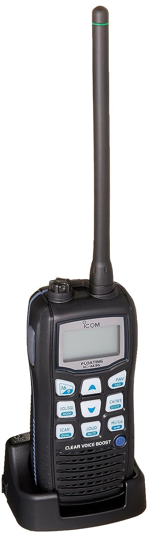 ICOM M36 M36 VHF-HH, 6/1W, 8HR Batt, Floats, Seawide Marine