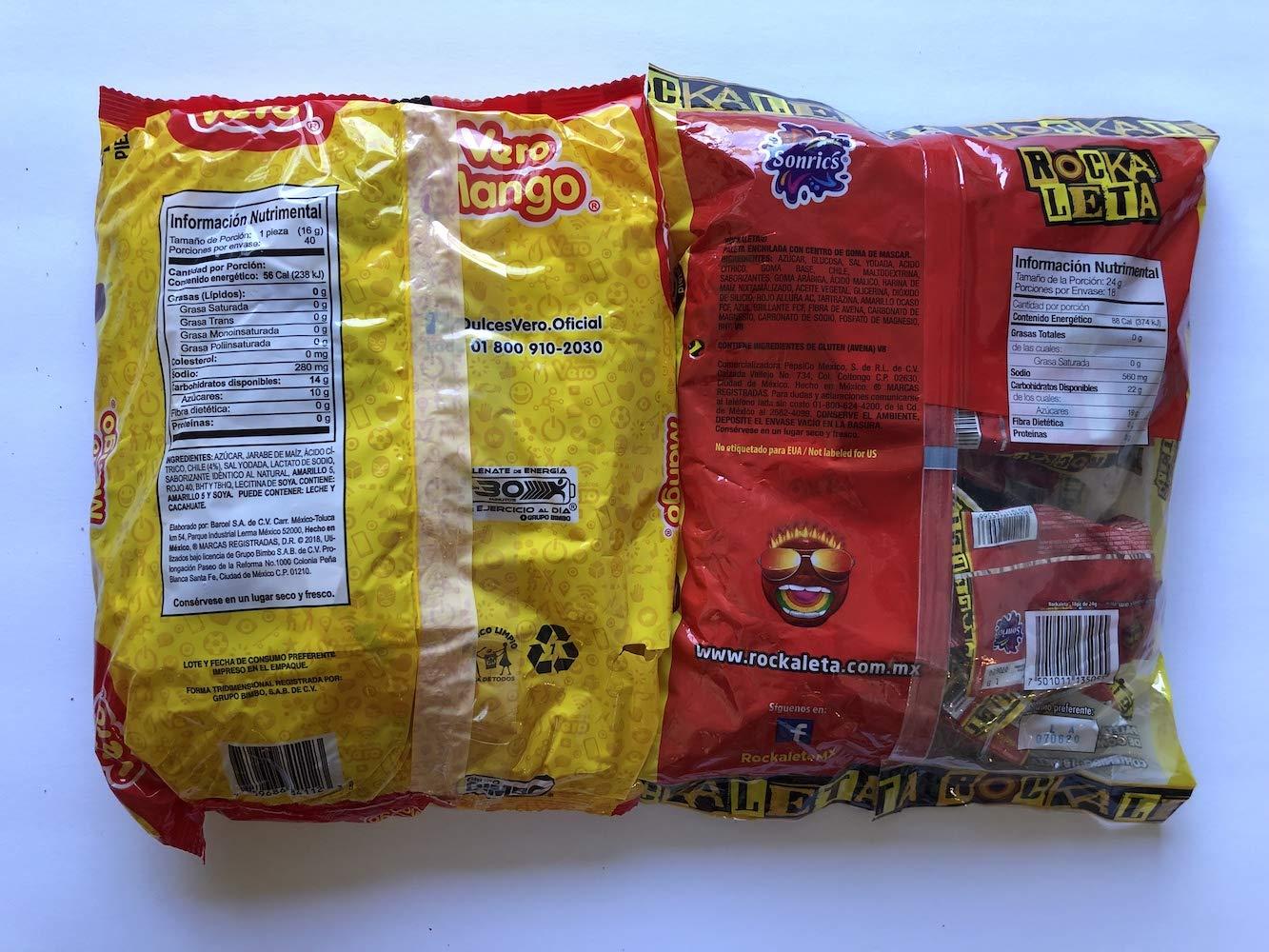 Amazon.com : Vero Mango and Rockaleta lollipop Bundle ...