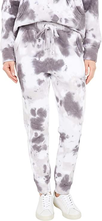 Free People FP Movement Work It Out Joggers Black Pink Tie Dye Yellow Army Green